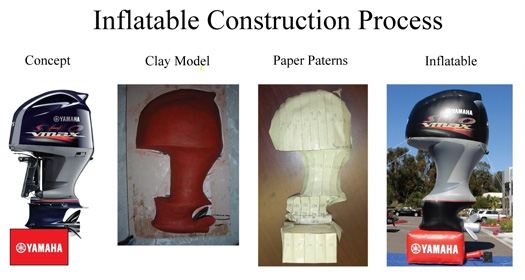 Construction Process Inflatable